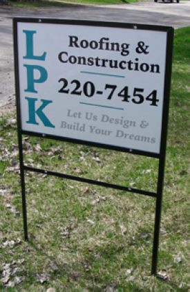Real Estate & Site Signs from Budget Signs & Specialties, Madison, WI