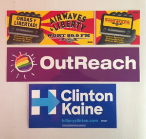 Bumper Stickers from Budget Signs & Specialties, Madison, WI