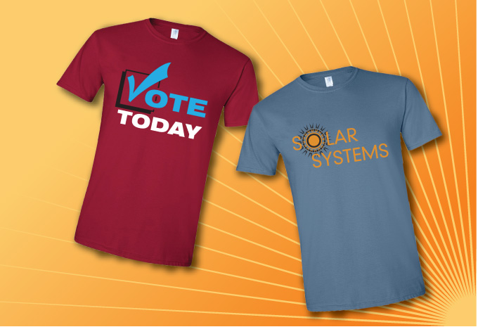 Printed T Shirts And Apparel From Budget Signs
